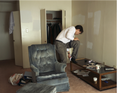 Jeff Wall 'Polishing' 1998