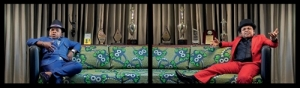 Candice Breitz The Woods 2012, video diptych