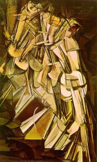 Nude Descending a Staircase, No. 2 (1912) by Marcel Duchamp, a centerpiece of the 1913 Armory Show