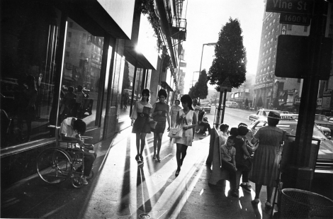 Garry Winogrand 1969 Hollywood Boulevard
